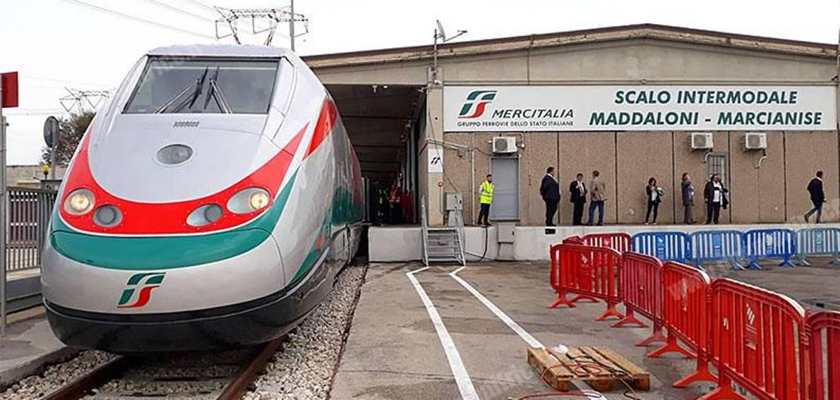 Clamoroso. Lo scalo merci ferroviario Maddaloni-Marcianise (il più grande  del Sud) verso la chiusura - GiornaleNews