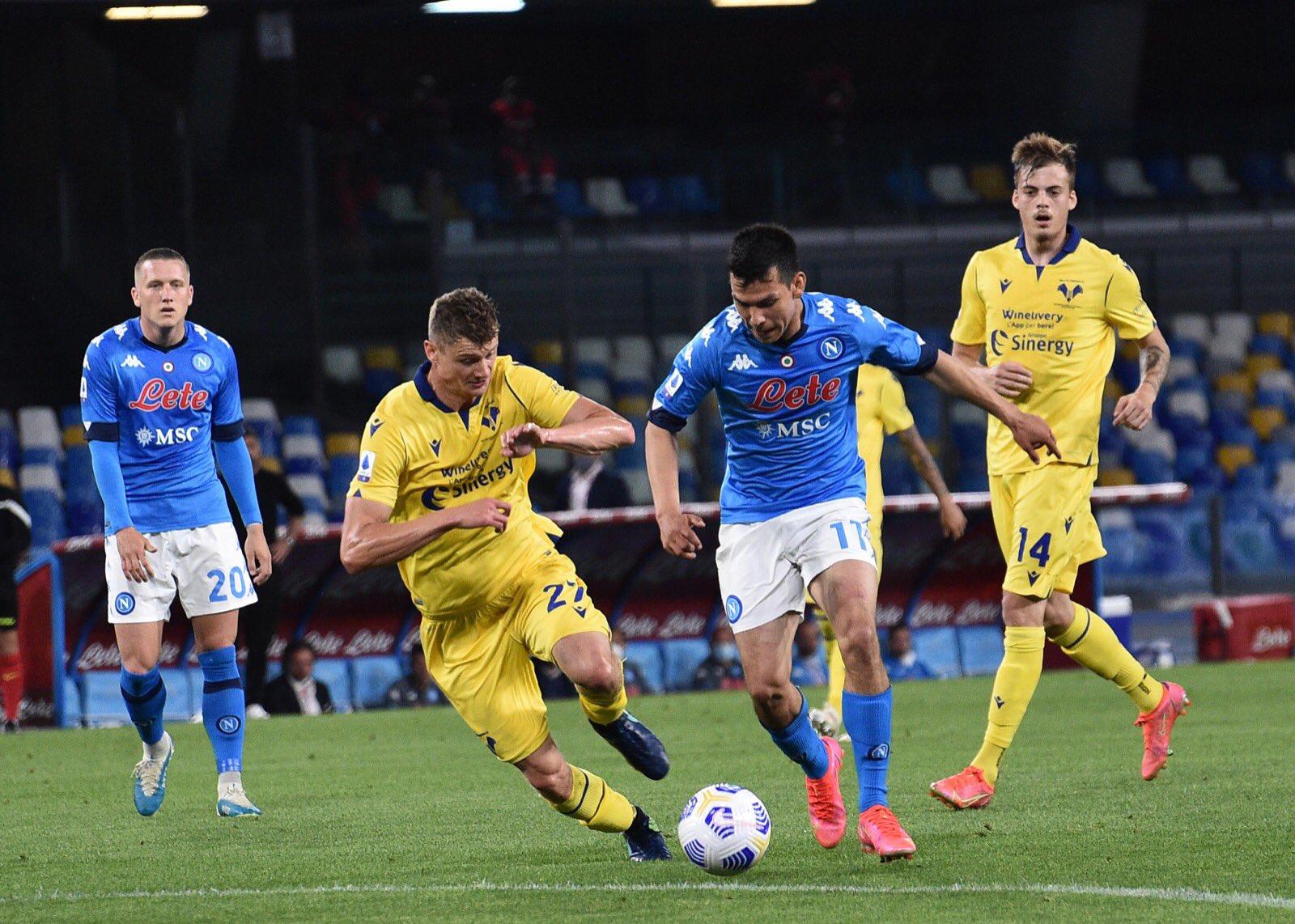 Napoli, Verona fatale: 1-1 al Maradona, addio alla Champions