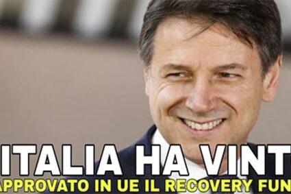 """Approvato il Recovery Plan dall'Europa. Il Movimento Cinque Stelle: """"Risultato importante grazie al grande lavoro portato avanti dal governo Conte"""""""